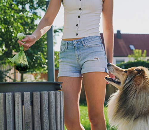 Rudelkönig Hundekotbeutel mit gratis Beutelspender ...